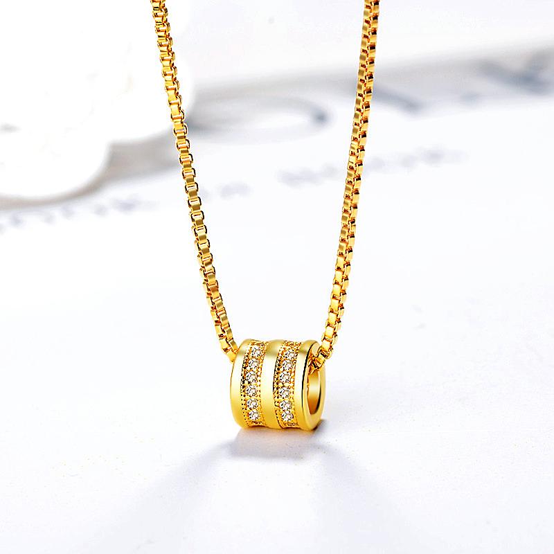 Necklace Bead Pendant for Women Little Waist Transfer Zircon - 1MRK.COM