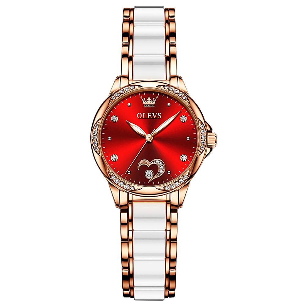 Watch Flower Luxury Lady Mechanical  - 1MRK.COM