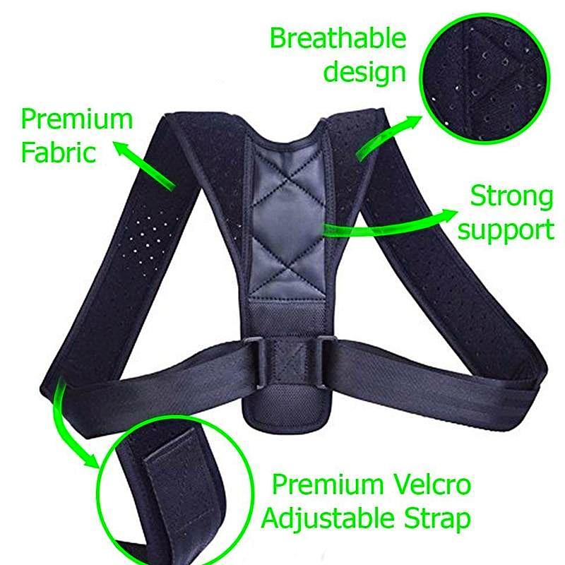 Adjustable Posture Correcting Support - 1MRK.COM