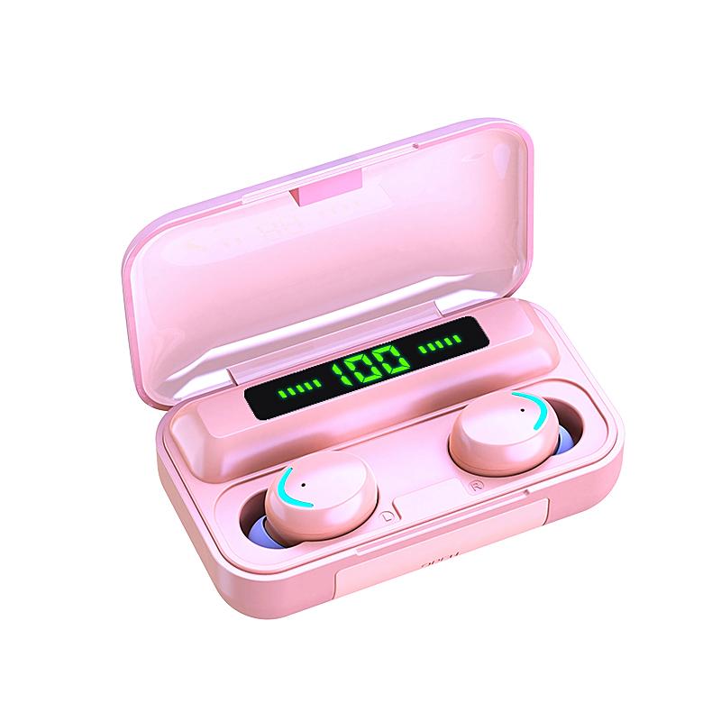 Charging Earphones Wireless 2000mah - 1MRK.COM