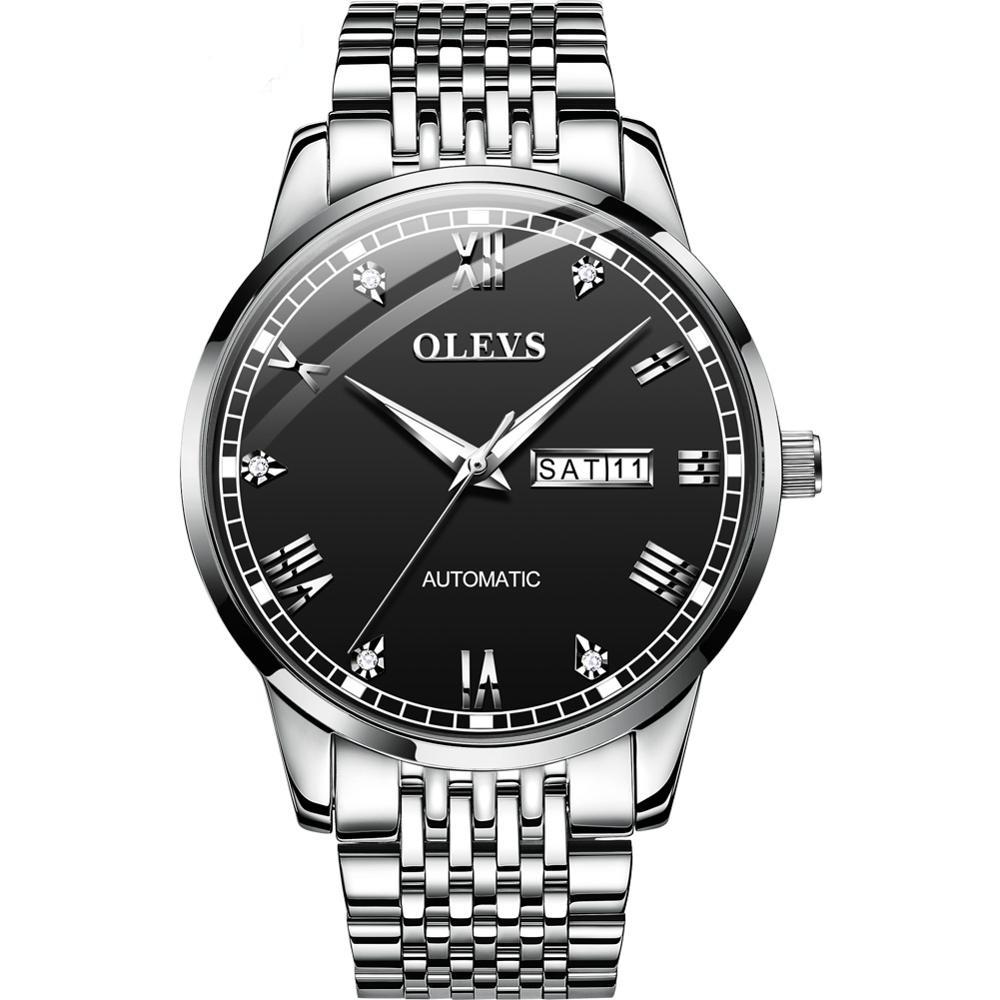 Business Men Auto Watch Diamond  Classic - 1MRK.COM
