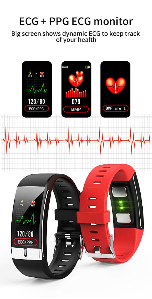 Smart Watch Men Body Temperature IP68 Waterproof - 1MRK.COM