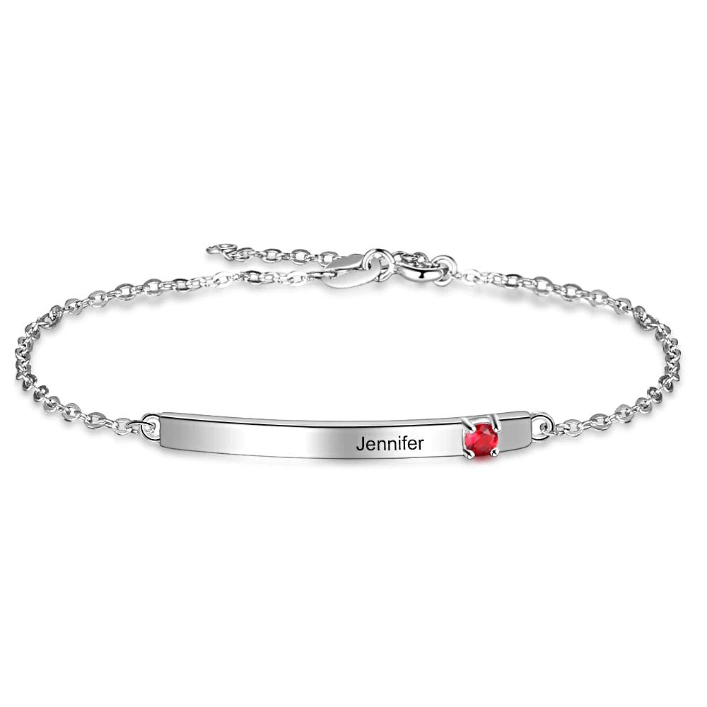 Custom Name Bracelets Silver Color - 1MRK.COM