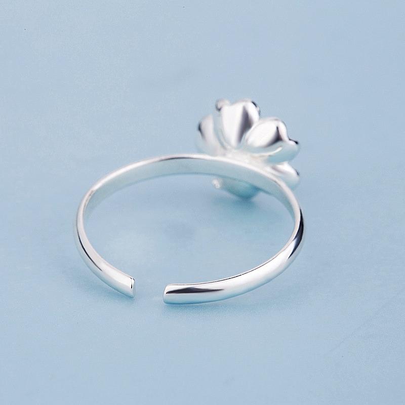 Open Rings for Women Fashionable Flower  - 1MRK.COM