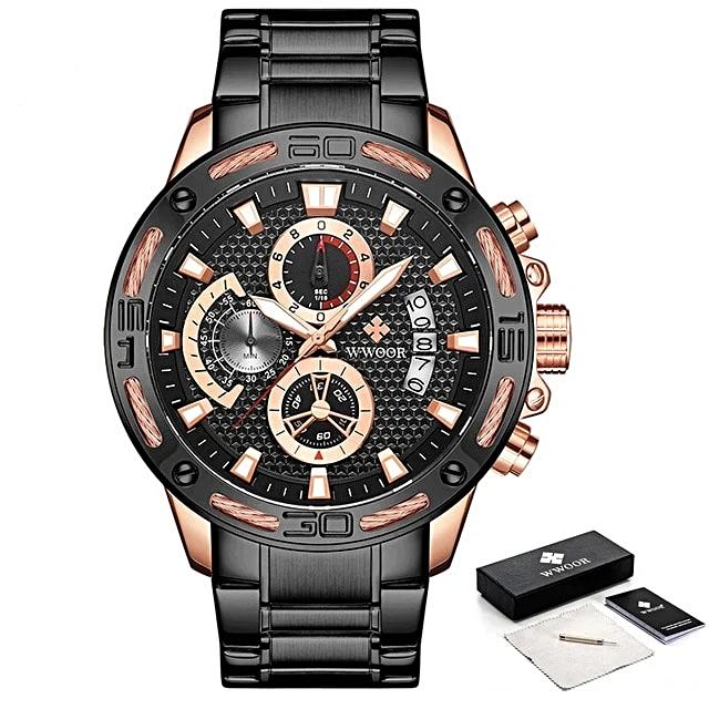 Men Watch Top Luxury Gold Stainless  -  1mrk.com