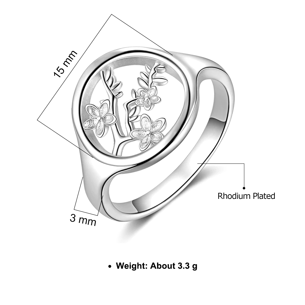 Ring Style Fashion  Flower Party Gift - 1MRK.COM