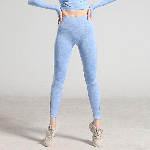 Women High Waist Sports Yoga Pants  - 1mrk.com