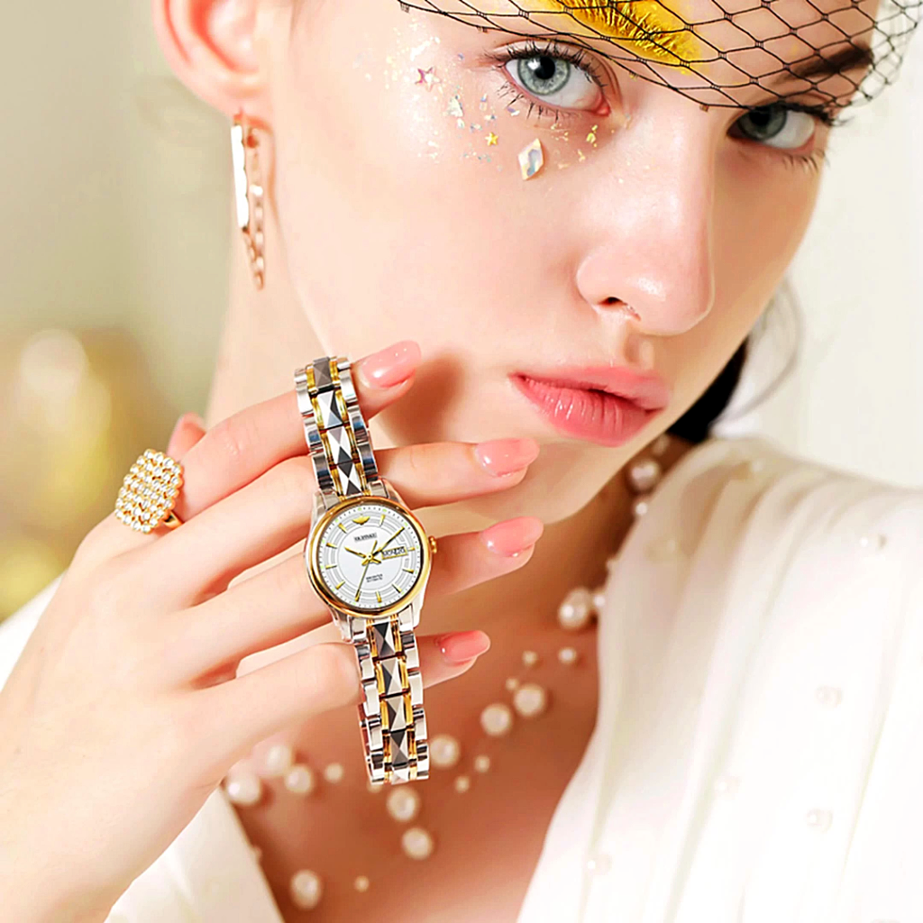 Luxury Japanese Mechanical Women Watch Embellished  -1MRK.COM