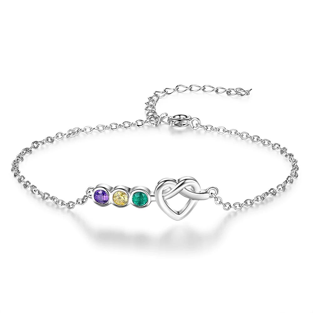 Bracelet for Women Colorful Stone Zircon - 1MRK.COM