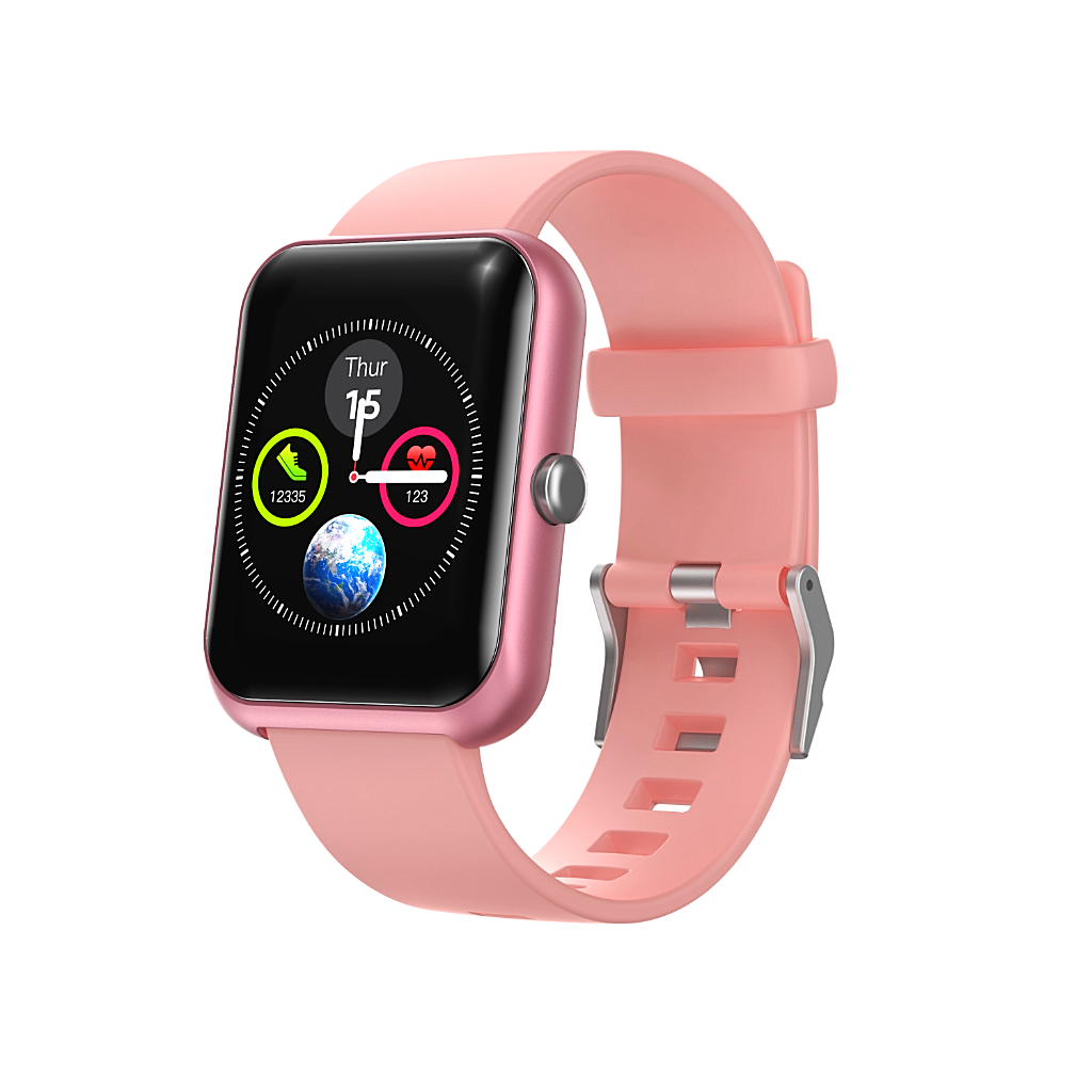 Smart Watch Blue GPS Calorie Count Waterproof Android iOS - 1MRK.COM
