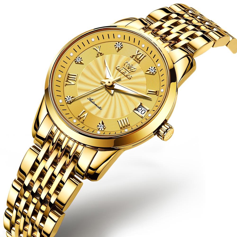 Top Brand Luxury Bracelet Lady Gold Watch Waterproof  - 1MRK.COM