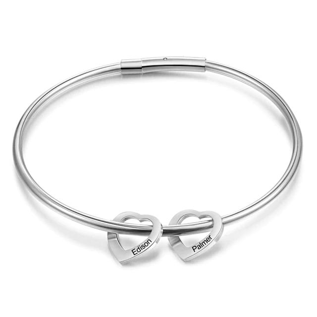Bracelet with Heart Custom  - 1MRK.COM
