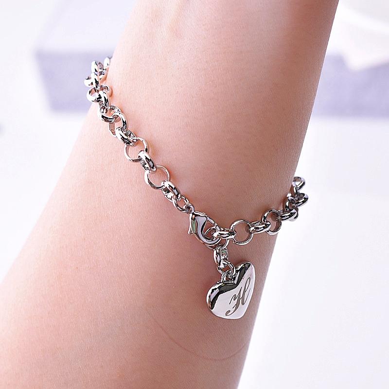 Silver Plated Bracelet for Women Jewelry  - 1MRK.COM
