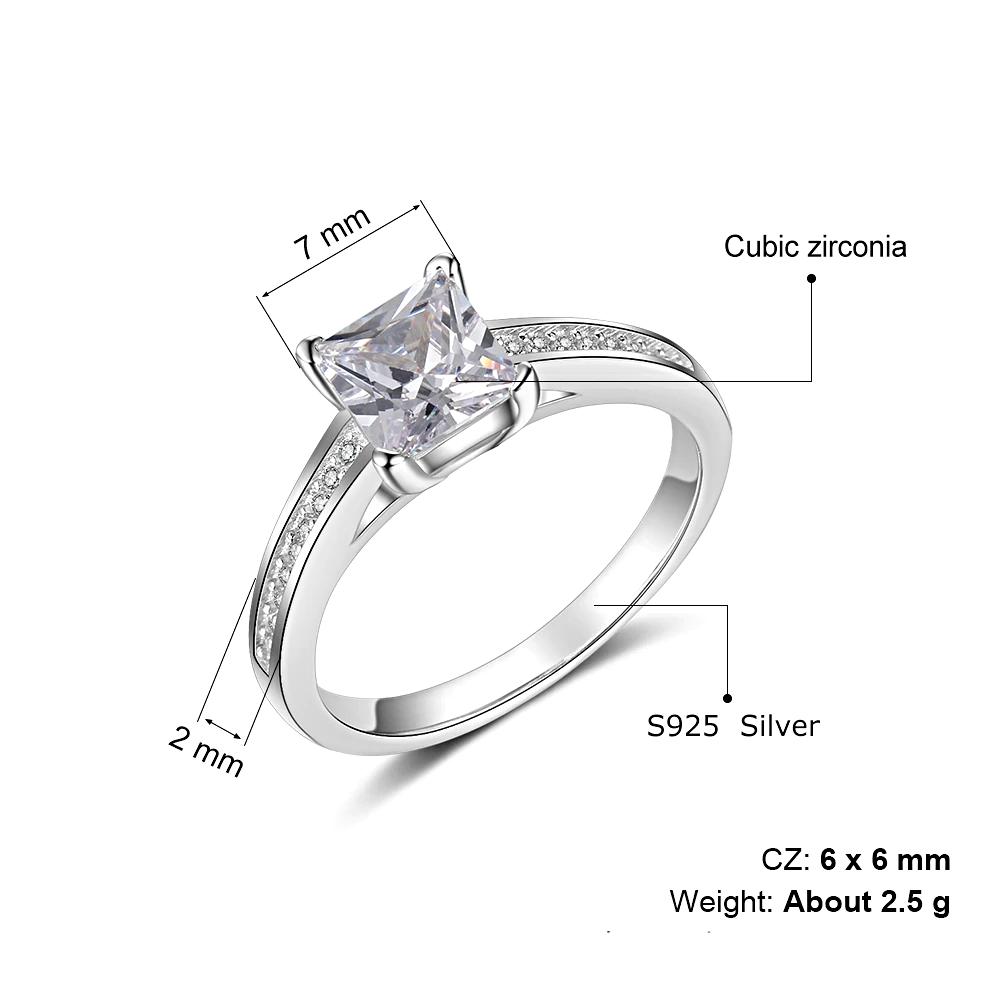 Silver Rings for Women Minimalist Round Finger - 1MRK.COM