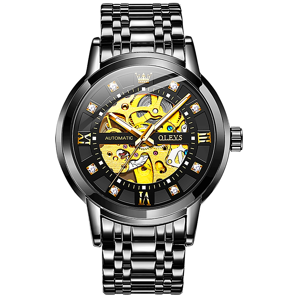 Men Watch Casual Stainless Steel Band Water - 1MRK.COM