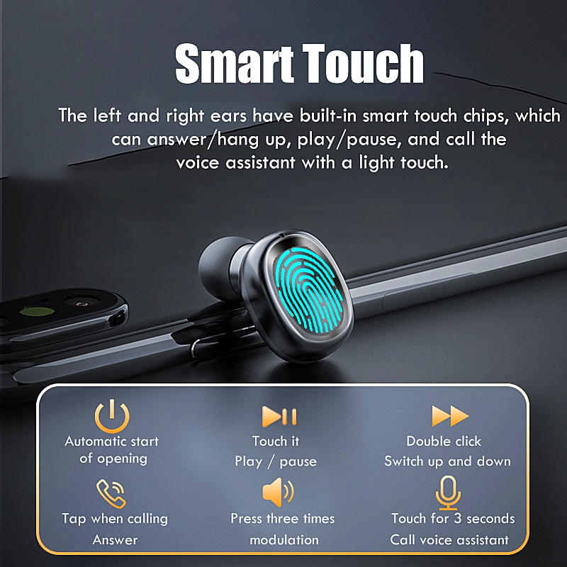 Small Wireless Headset 300mAh Charging - 1MRK.COM