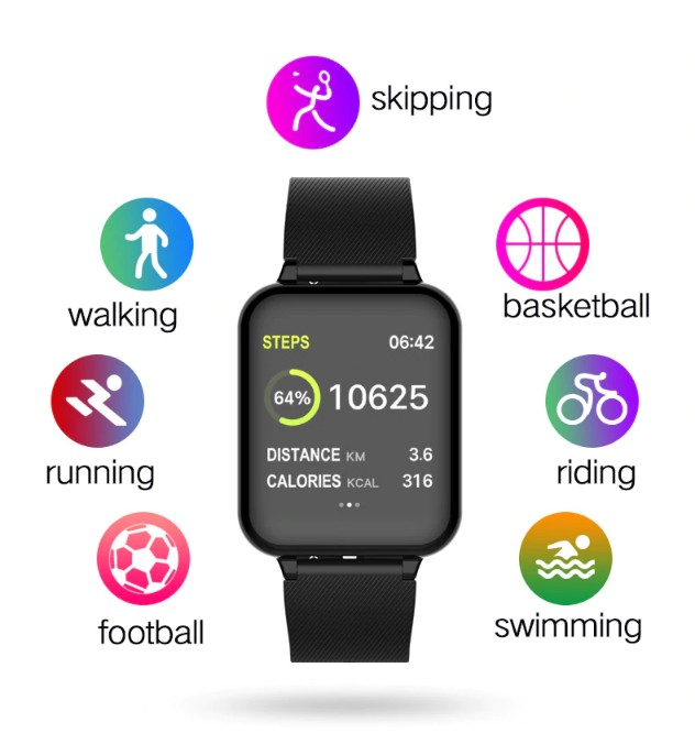 Sports SmartWatch Fitness Tracker IWZ-iB57