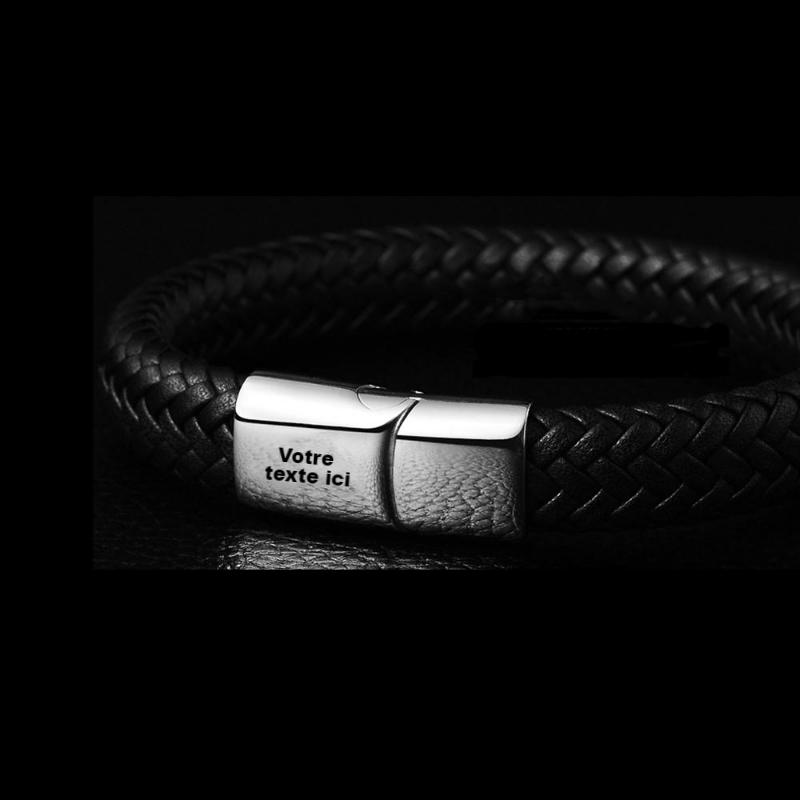 Alpha bracelet a graver